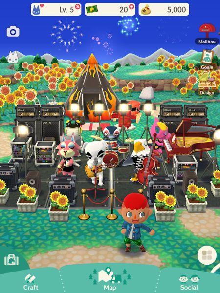 Entradas para el Campamento de Bolsillo de Animal Crossing Cómo conseguir