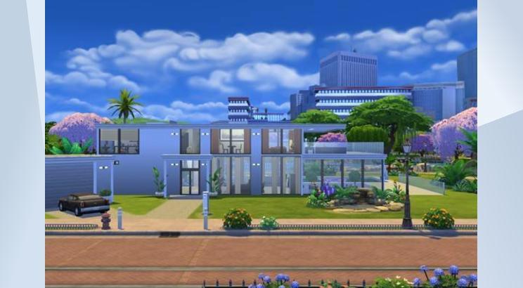 casa lujosa moderna