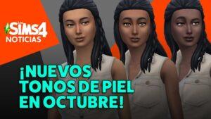 Todos los detalles de la actualización del tono de piel de los Sims 4