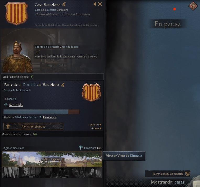Guía de Principiantes CRUSADER KINGS 3