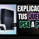 Cómo jugar a los juegos de PS4 en la PS5