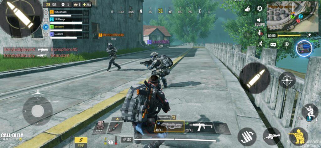 jugar en equipo Call Of Duty Mobile Alcatraz