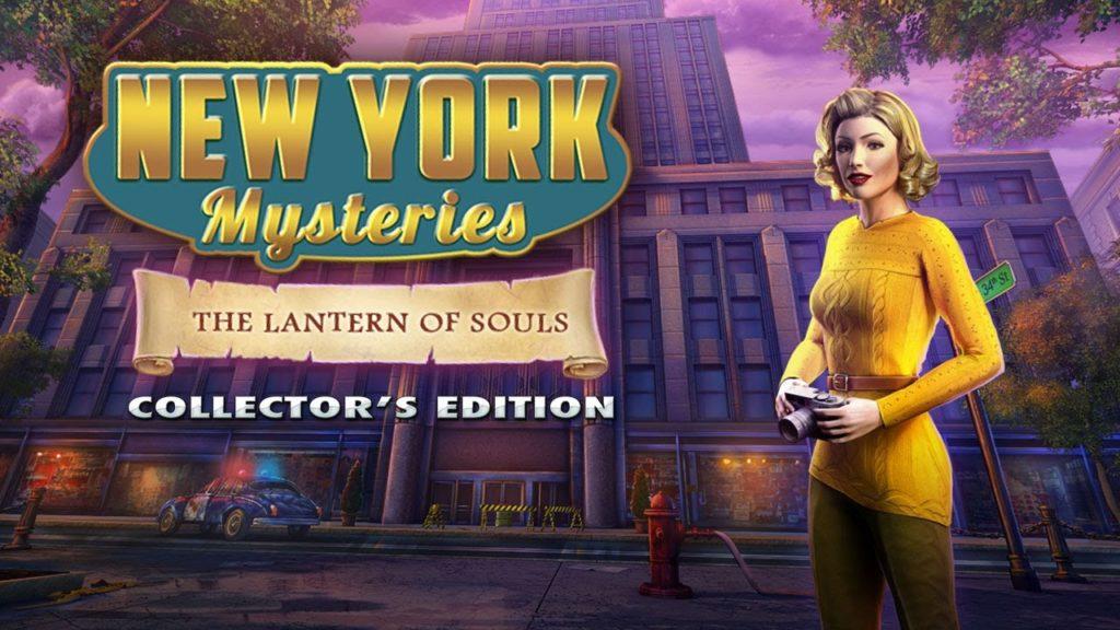 New York mysteries 3 the lantern of souls