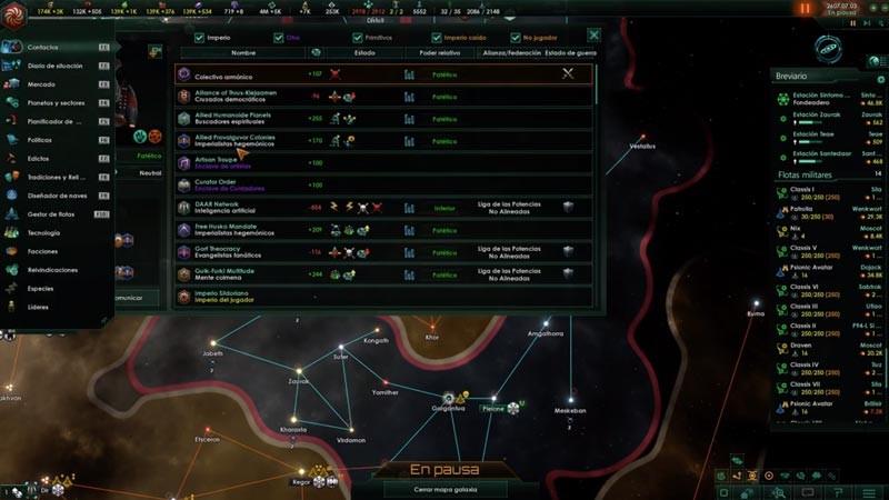 Trucos de Stellaris