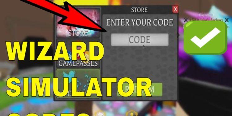 Códigos Wizard Simulator Roblox