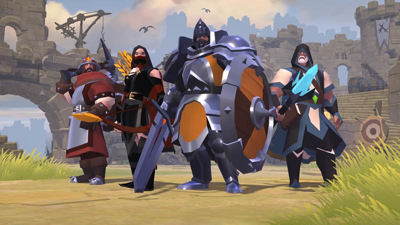 Comandos de Albion Online