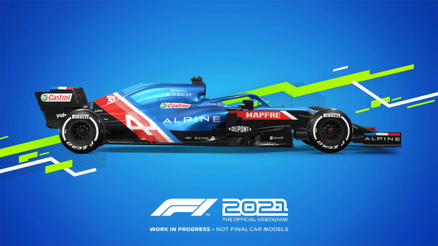 F1 2021 - Mejor configuración de mando y volante